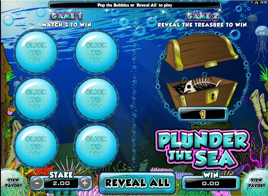 Punder the Sea