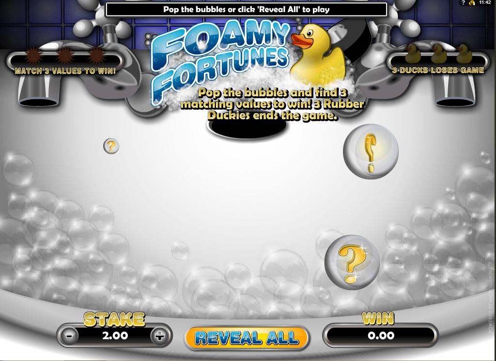 Foamy Fortunes